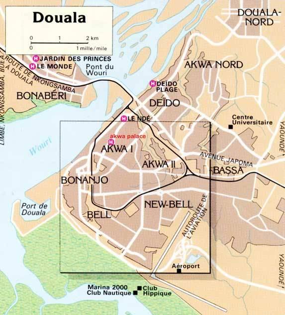 Plan Douala