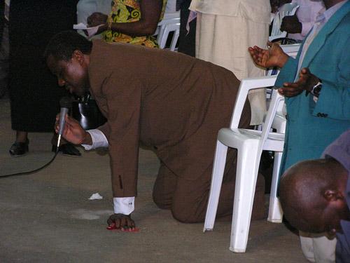 Séance de prière