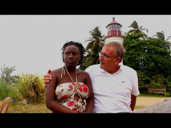 Capture d'écran du film Le Blanc d'Eyenga
