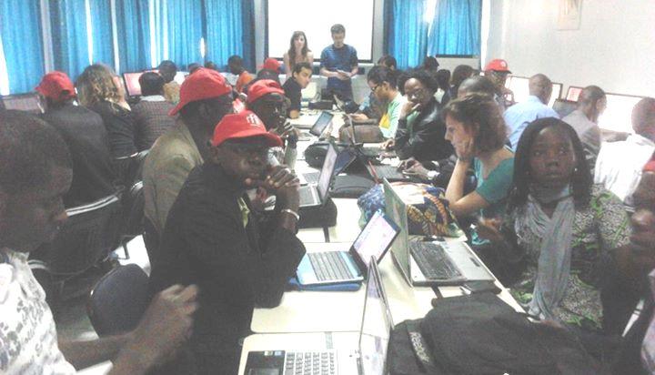 Les premières minutes de la formation #MondoblogDakar, AUF Dakar