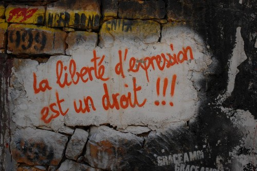 Liberté d'expression - Via FlickR