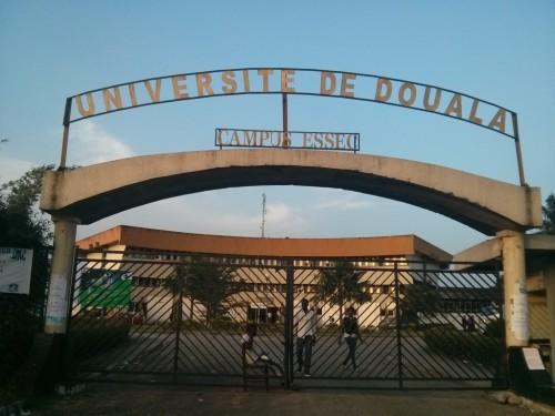 L'entrée principale du Campus 1 de l'Université de Douala - Photo: René Jackson Nkowa