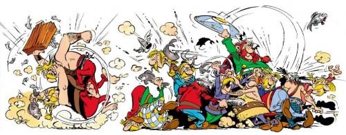 Image: Bagarre générale - Uderzo & Goscinny - asterix.com
