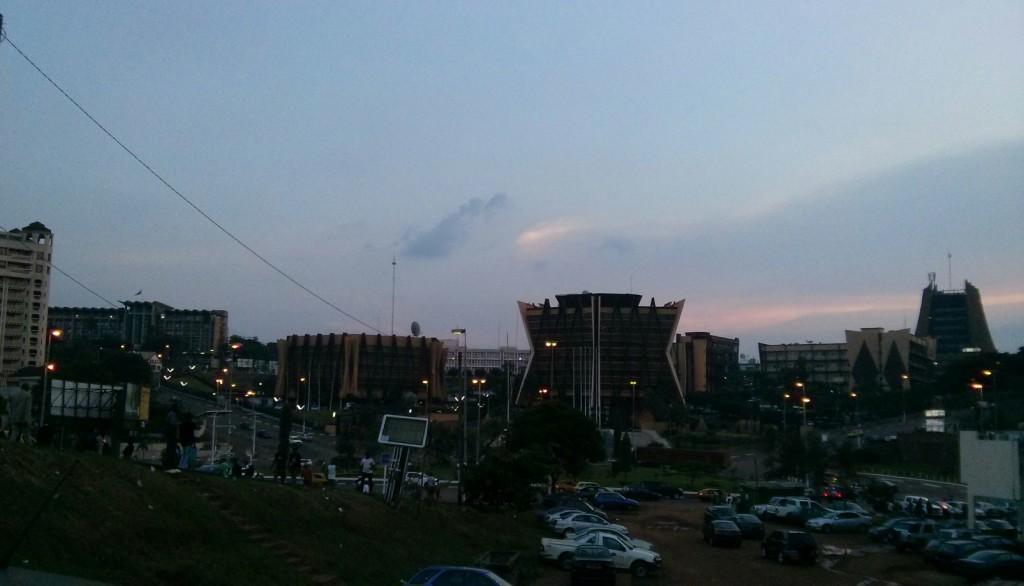 Une vue du quartier des ministères à Yaoundé - Par René Jackson